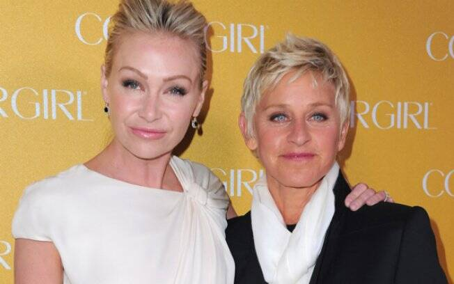 Portia de Rossi e Ellen DeGeneres: casa invadida
