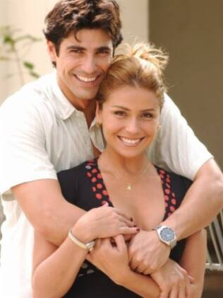 Reynaldo Giannechinni e Giovanna Antonelli em