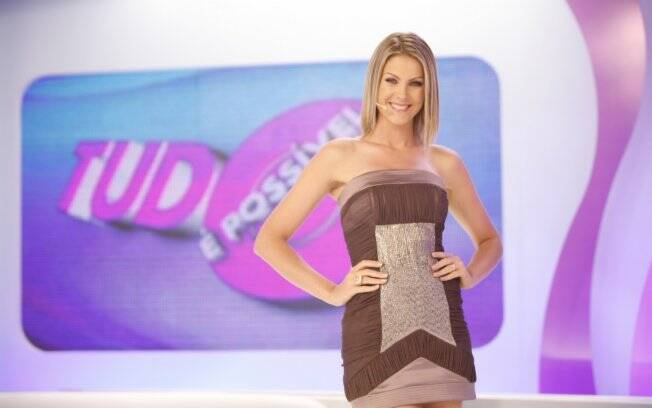 Ana Hickmann no comando do