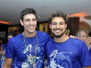 Reynaldo Gianecchini e Cauã Reymond