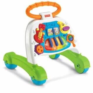Andador infantil tipo carrinho