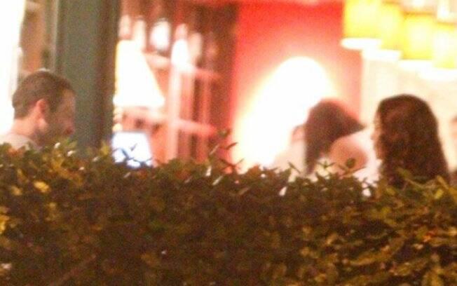 Malvino Salvador e Sophie Charlotte jantaram juntos na noite de sábado (07/05)