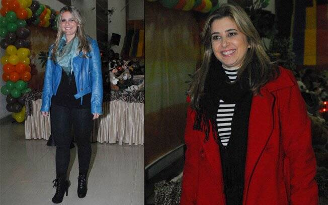 Milene Domingues e Mylena Ciribelli