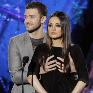 Justin e Mila Kunis: amizade nada convencional