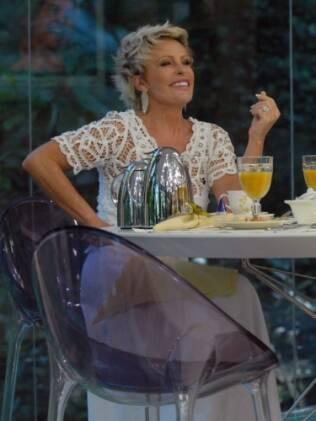 Ana Maria Braga receberá o ator em seu programa, provavelmente no quadro de culinária