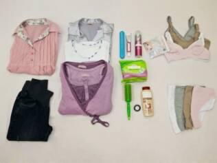 Itens da mala da maternidade para as mães: roupas confortáveis