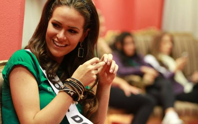 Priscila Machado, dias antes de se tornar Miss Brasil 2011