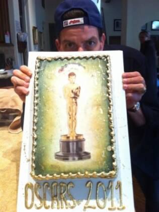 Mais uma das fotos postadas por Sheen nessa madrugada (02/02):