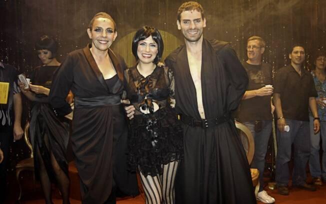 Rosi Campos, Rachel Ripani e Bruno Perillo