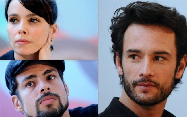 Débora Falabella, Cauã Reymond e Rodrigo Santoro