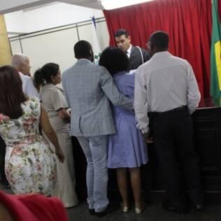 Casamento de Taís Araújo e Lázaro Ramos