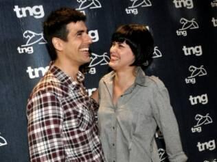 Reynaldo Gianecchini e Mayana Moura