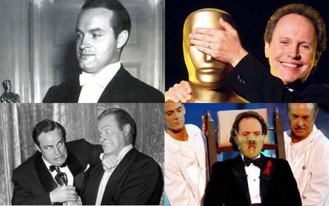 Os apresentadores veteranos do Oscar