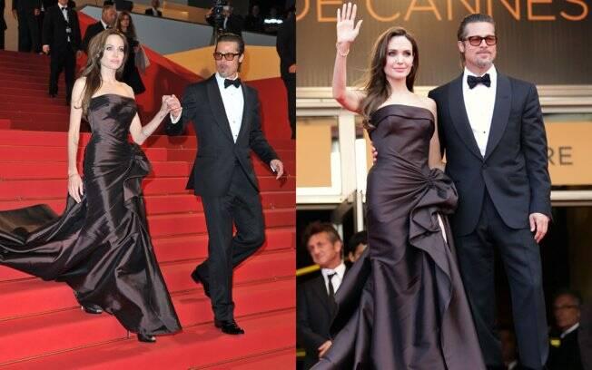 .. depois foi buscar a mulher, Angelina Jolie
