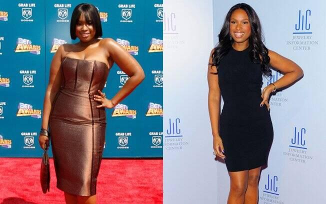 Jennifer Hudson: antes e depois