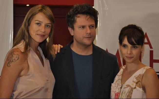 Luana Piovani, Selton Mello e Débora Falabella