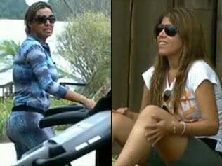 Renata Banhara e Raquel Pacheco