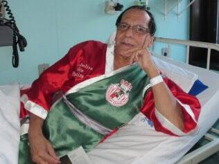 Isabelita recebe alta hospitalar