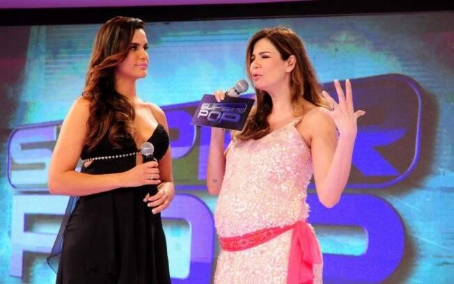 Grávida, Luciana apresenta sua substituta: Gilmelândia, mais conhecida como Gil