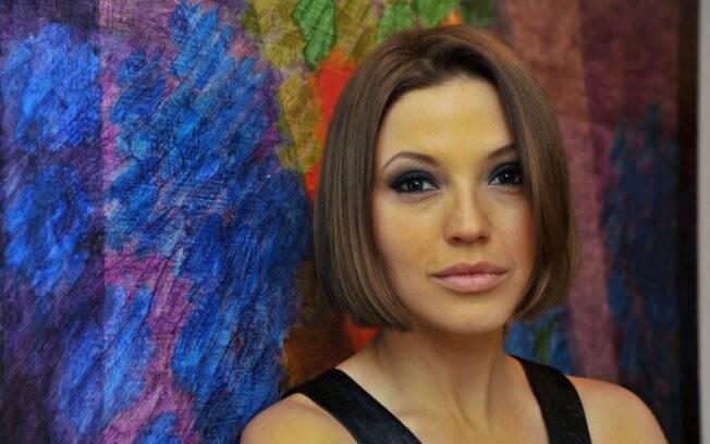 Novo look de Patricia de Sabrit foi aprovado pelo marido.