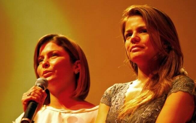 Bárbara Borges e Nivea Stelmann estrelam filmes juntas, pela primeira vez na carreira