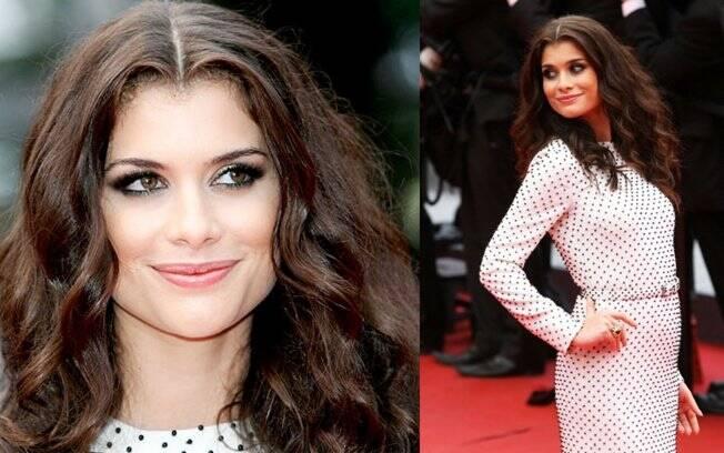 Alinne Moraes foi até Cannes para participar de uma ação comercial