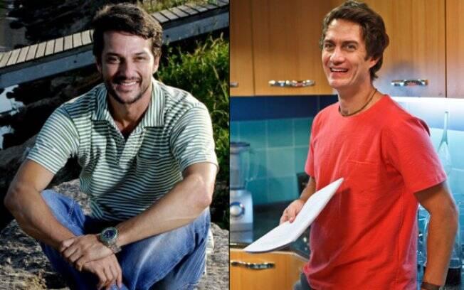Gabriel Braga Nunes e Marcelo Serrado. O primeiro, já está de volta à Globo. O outro, está com um pé no Projac.