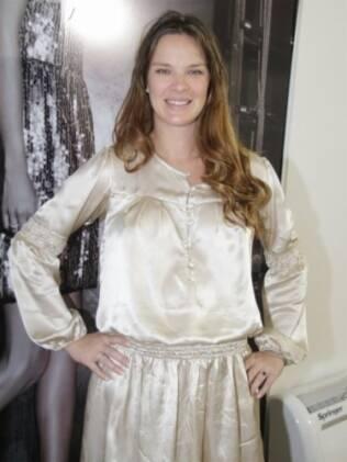 Leticia Birkheuer, grávida de cinco meses
