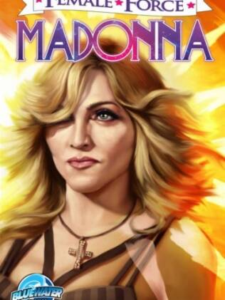 """Madonna é a próxima capa da revista em quadrinhos """"Female Force"""