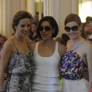 As atrizes Ana Furtado, Christiane Torloni e Camila Morgado também