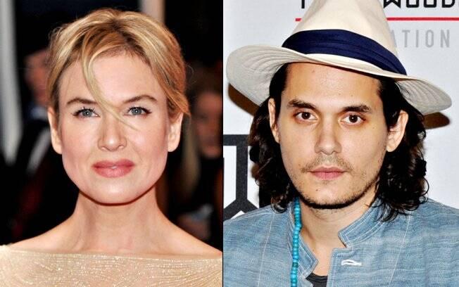 Renée Zellweger estaria conhecendo melhor o cantor John Mayer, ex de Jennifer Aniston