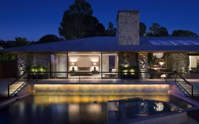 A casa de Jennifer Aniston em Beverly Hills: vendida por R$ 57 milhões
