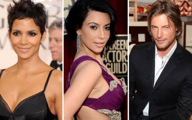 Halle Berry: incomodada com Kim Kardashian, ex-affair de seu ex-marido