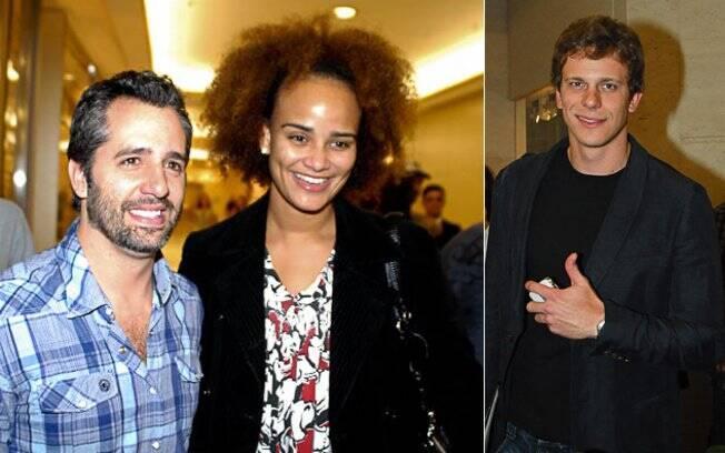 Ike Levy, Luciana Mello e César Cielo