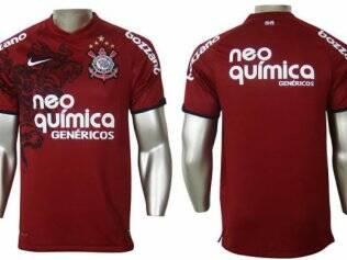 1d52e5c5237a6 Imagem da nova camisa vinho do Corinthians vaza na internet - Futebol - iG