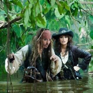 Johnny e Penélope em ação
