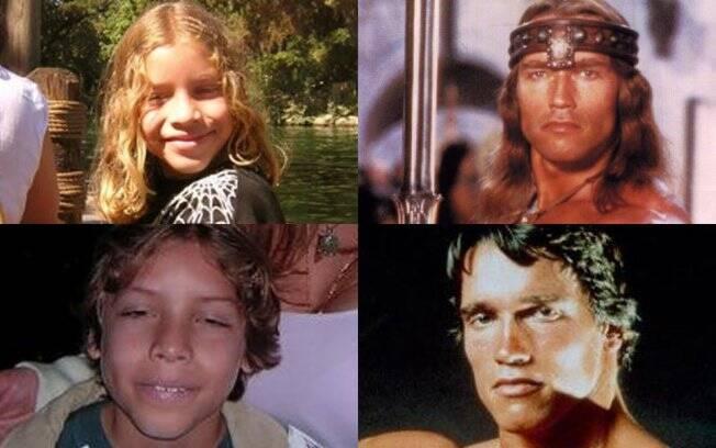 Arnold Schwarzenegger e o suposto filho que teve fora do casamento