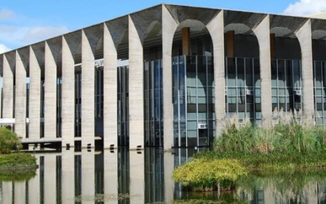 Os arcos do Palácio do Itamaraty tornaram-se uma das marcas da arquitetura de Oscar Niemeyer