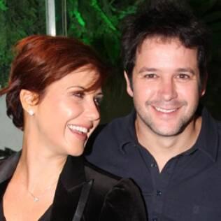Na época em que formava um casal com o ator Murilo Benício