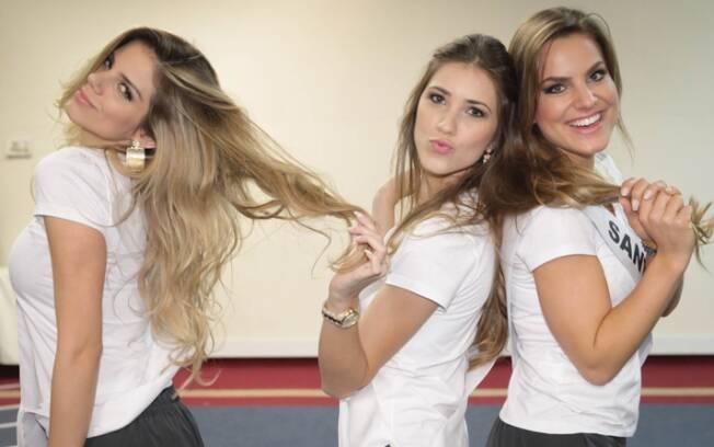 Candidatas loiras estão confiantes na conquista da faixa do Miss Brasil 2011