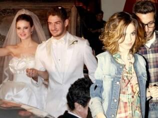 Stephany Brito mudou o cabelo após o término do casamento, em 2009
