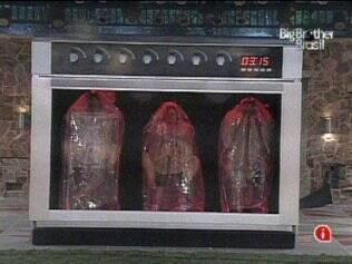 Perseguidos pelo público, Cristiano, Natália e Rodrigão vão para o forno pela 10ª vez
