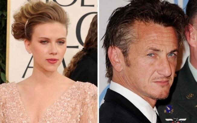 Scarlett Johansson e Sean Penn: novo casal de Hollywood?