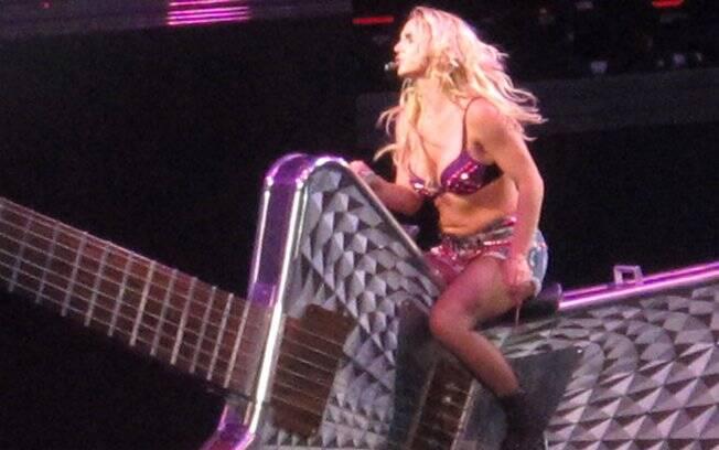 A barriguinha de Britney Spears virou notícia na imprensa internacional