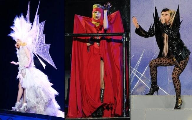 Lady Gaga: seus trajes exóticos estão custando caro à cantora