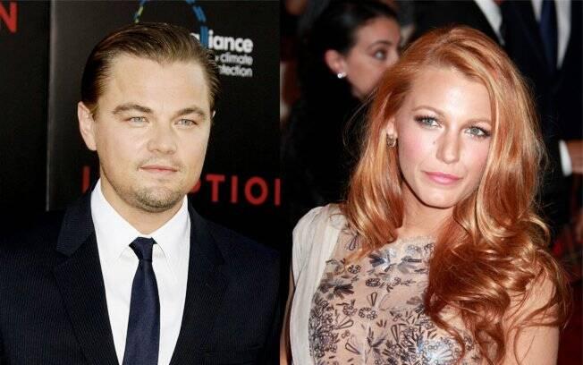 Leonardo DiCaprio e Blake Lively