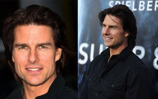 Tom Cruise na première de