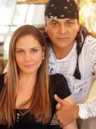 Flávio Priscott e Heloisa Perissé: ele ficou conhecido por trabalhar com cabeças famosas