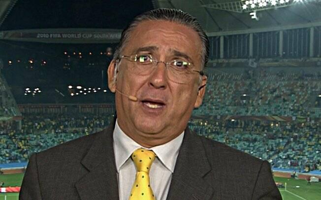Galvão Bueno: carreira repleta de declarações e atitudes polêmicas