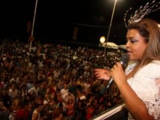 Preta Gil no Camarote Expresso 2222 no carnaval de Salvador/ BA